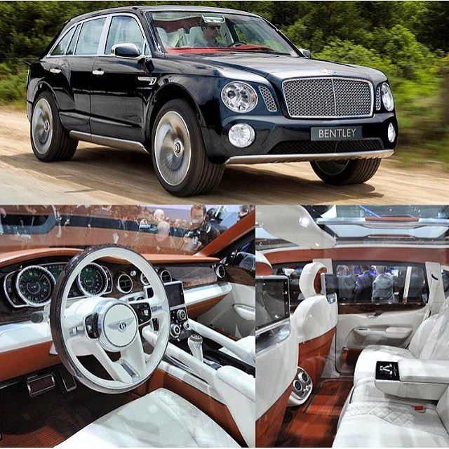 """""""New #Bentley #bentayga what's your thoughts on it? #car #cars #lifestyle #luxury #billionaire #millionaire #london #uk #duabi #classy #rich #highend #whip"""" Photo taken by @millionaireshoppinggroup on Instagram, pinned via the InstaPin iOS App! http://www.instapinapp.com (07/17/2015)"""