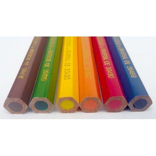 6 darabos, vastag, Carioca színes ceruza készlet Jumbo - Színes ceruzák - 599Ft - Színes ceruza készlet