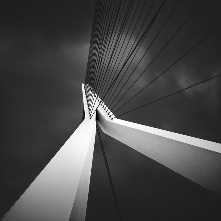 Bw fine art photographs of modern architecture by joel tjintjelaar