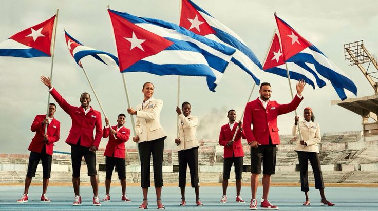 Cuba's Olympic Team 2016 outfitted by Christian Louboutin