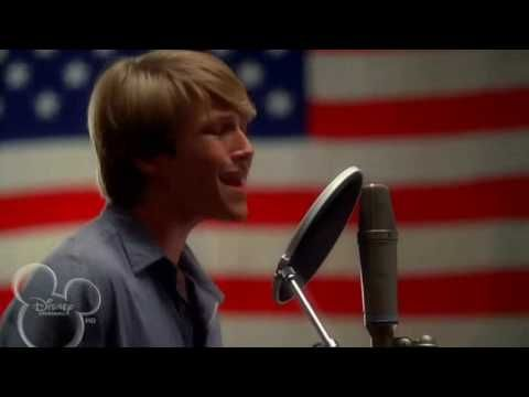 Sterling Knight - Hero (Movie Soundtrack Of StarStruck)  I know he sounds fitly but it is a really good song!!