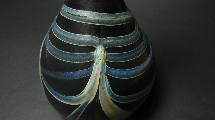 Eisch Vase Glas glass Jugendstil signiert in Antiquitäten & Kunst, Glas & Kristall, Dekorglas | eBay!