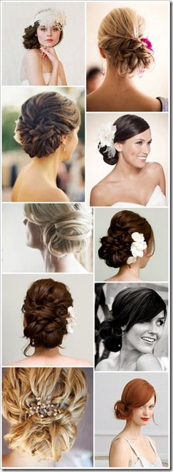 Wedding side buns - how i would def want to do my hair for my wedding