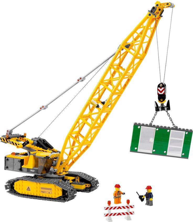 LEGO 7632 Crawler Crane - Лего Гусеничный кран