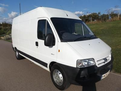 2006 CITROEN RELAY 22 HDi 1800 LWB High Roof Enterprise RECENTLEY SERVICED Diesel In Swanley