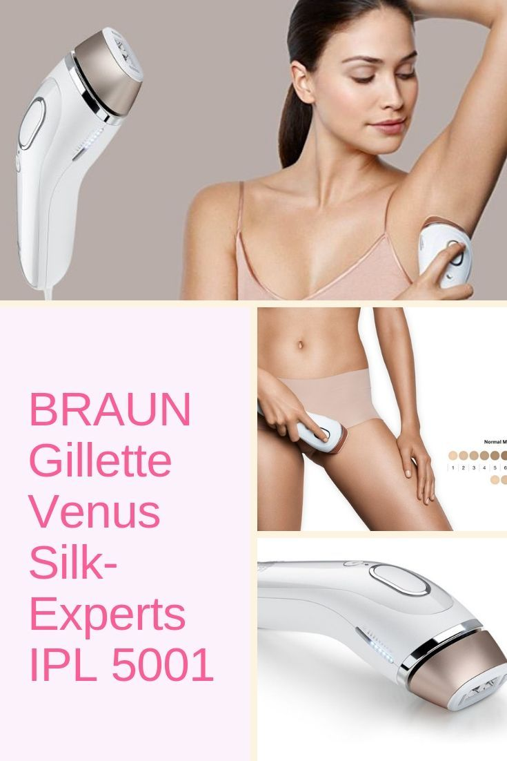Braun Gillette Laser Hair Removal 5001 This Is A Ground Breaking