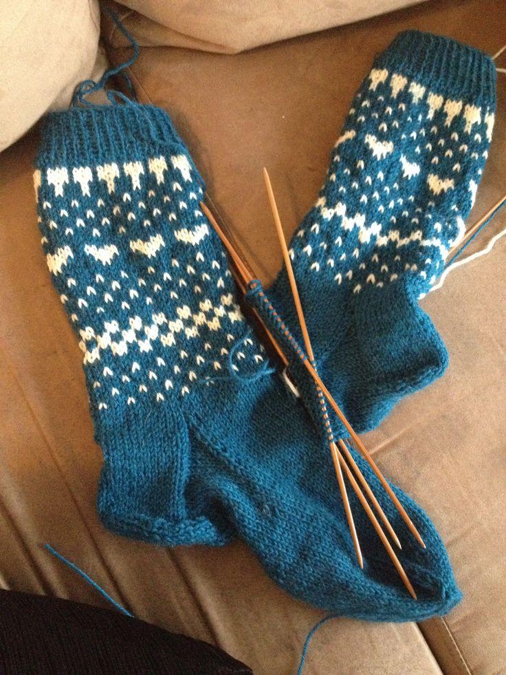 Lune sokker til vinter