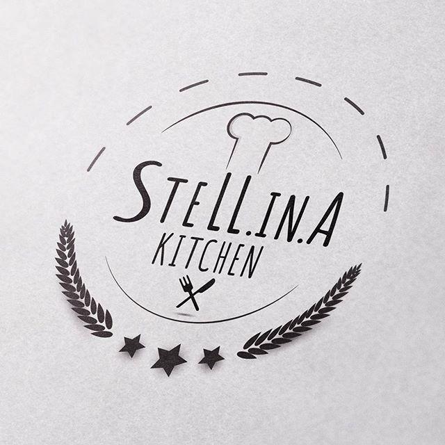 Done 🏁 předloha: @stell.fera #logodesigns #logotype #graphics #foodblog #logo #designer #graphicdesign #branding #fraktalion_design