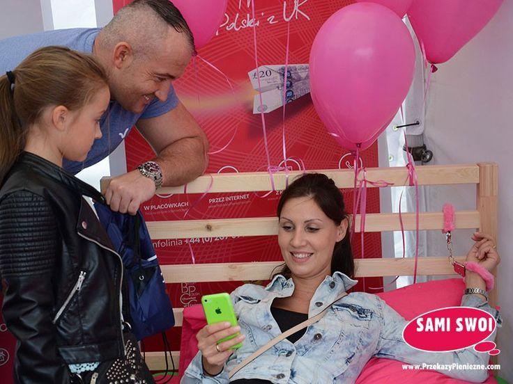 Konkurs na najszybszy przekaz wykonany w aplikacji mobilnej Sami Swoi.