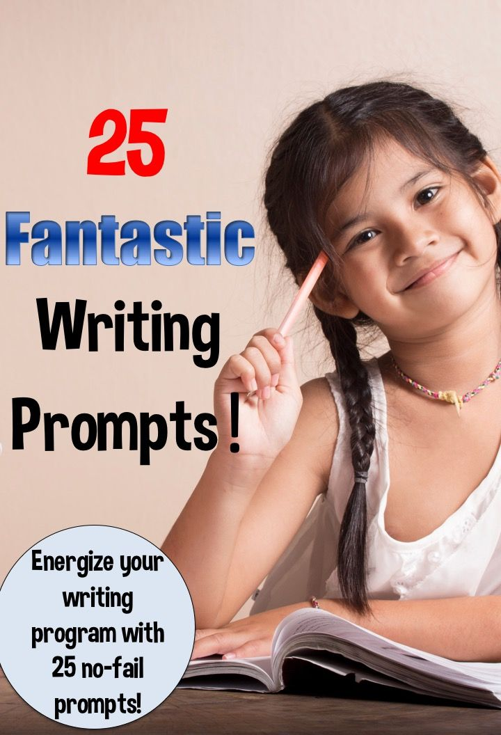 Need some terrific writing prompts? Don't miss this post!