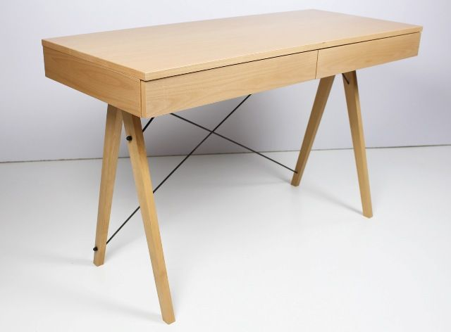 Biurko LUXURY WOOD marki  MINKO www.euforma.pl #desk #wood #home #office #homeoffice #room