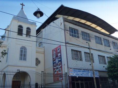 COLEGIO ARMENIO - BARRIO FLORES BUENOS AIRES - IGLESIA ARMENIA DE LA SANTA CRUZ DE VARAG BARRIO FLORES BUENOS AIRES