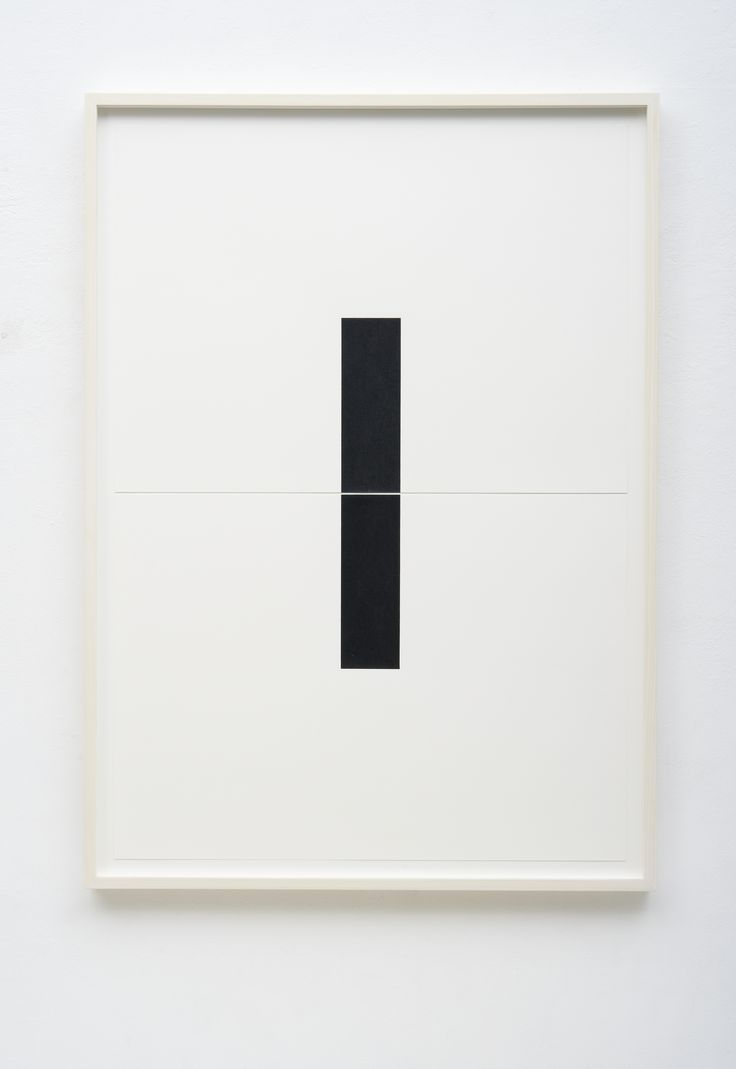 FRANK GERRITZ - Two Center Connection, 2014, Pencil on Paper, 2 Part, Each 42 x 58.8 cm