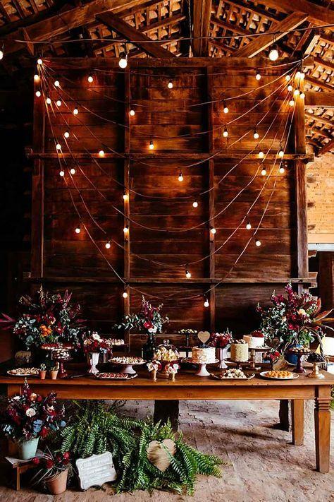 Decoração de casamento com galhos secos   Inspiração para o outono - Portal iCasei Casamentos