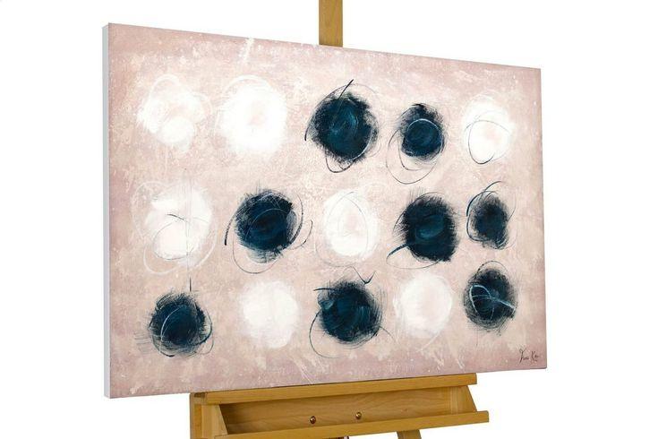 Gemälde »Hautnah«, handgemaltes Bild auf Leinwand