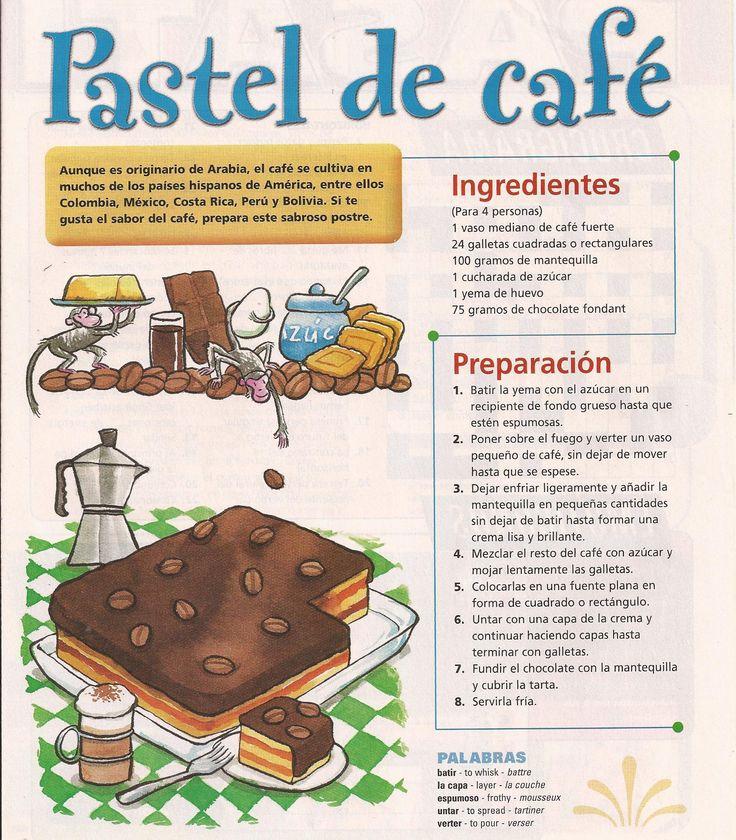 #receta #torta #cafe