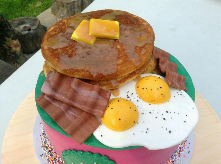 breakfast birthday cake | the breakfast nook | Pinterest