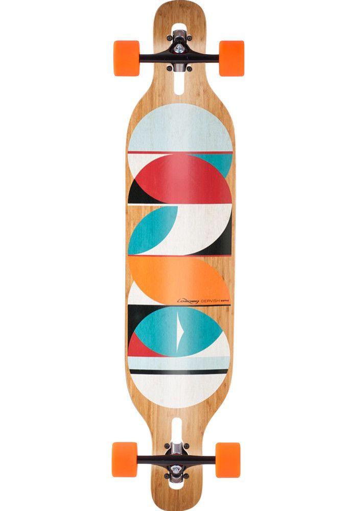 Loaded Dervish-Sama-Bamboo-Flex-3, Longboard-Complete, no-color Titus Titus Skateshop #LongboardComplete #Skateboard #titus #titusskateshop