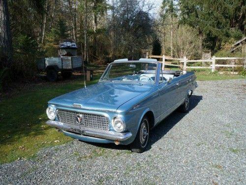 1963 Valiant Signet 200 Convertible - Grumpy's Classic Cars