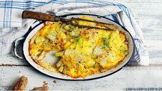 Fenykl je skvělá zelenina, která stále čeká na masovější objevení. Má výbornou jemnou chuť, která mile překvapí i ty, kteří si fenykl zatím neoblíbili. Zapečený se sýrem a smetanou je skvělý jako samostatné vegetariánské jídlo nebo jako výtečná příloha třeba k pečenému kuřeti.