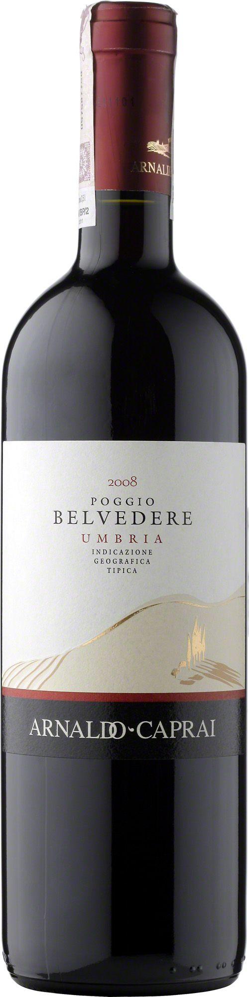 Poggio Belvedere Umbria Rosso I.G.T. Niezwykłe wino o rubinowym kolorze wraz z domieszką jasnego fioletu. Aromatyczne, owocowe z dodatkami przypraw korzennych. W smaku odkrywa pełen korpus, eleganckie a zarazem miękkie. Przed podaniem zalecane jest co najmniej godzinne dekantowanie wina. #Poggio #Belvedere #Umbria #Rosso #ArnaldoCaprai #Sangiovese #Cillegiolo #Włochy #Wino #Winezja