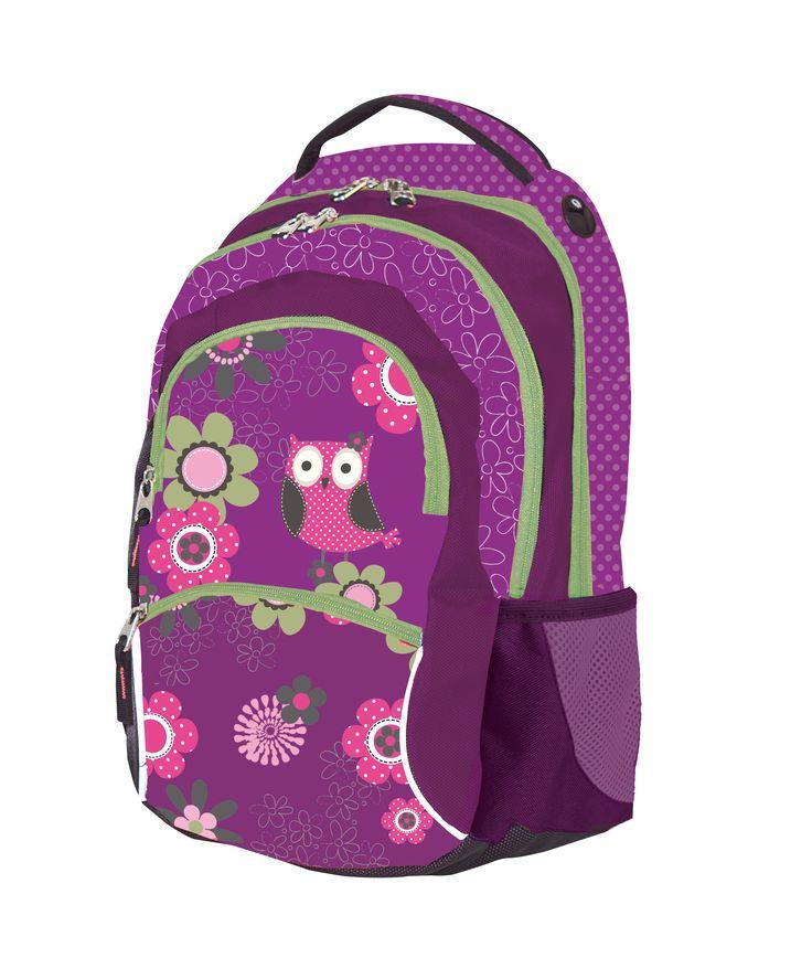 School Bag Owl/ Školní batoh Owl