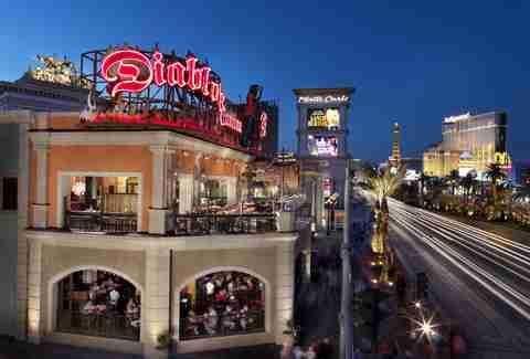 Diablo's Cantina in Monte Carlo, Las Vegas, Nevada