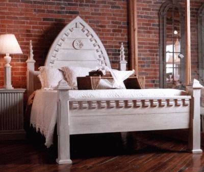 cool gothic bed - Gotische Himmelbettvorhnge