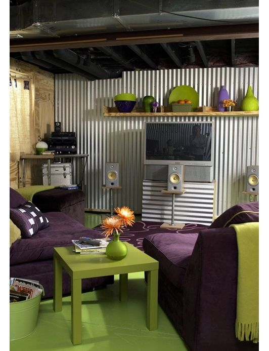 marvelous purple green living room   137 best images about I love Green & Purple on Pinterest ...