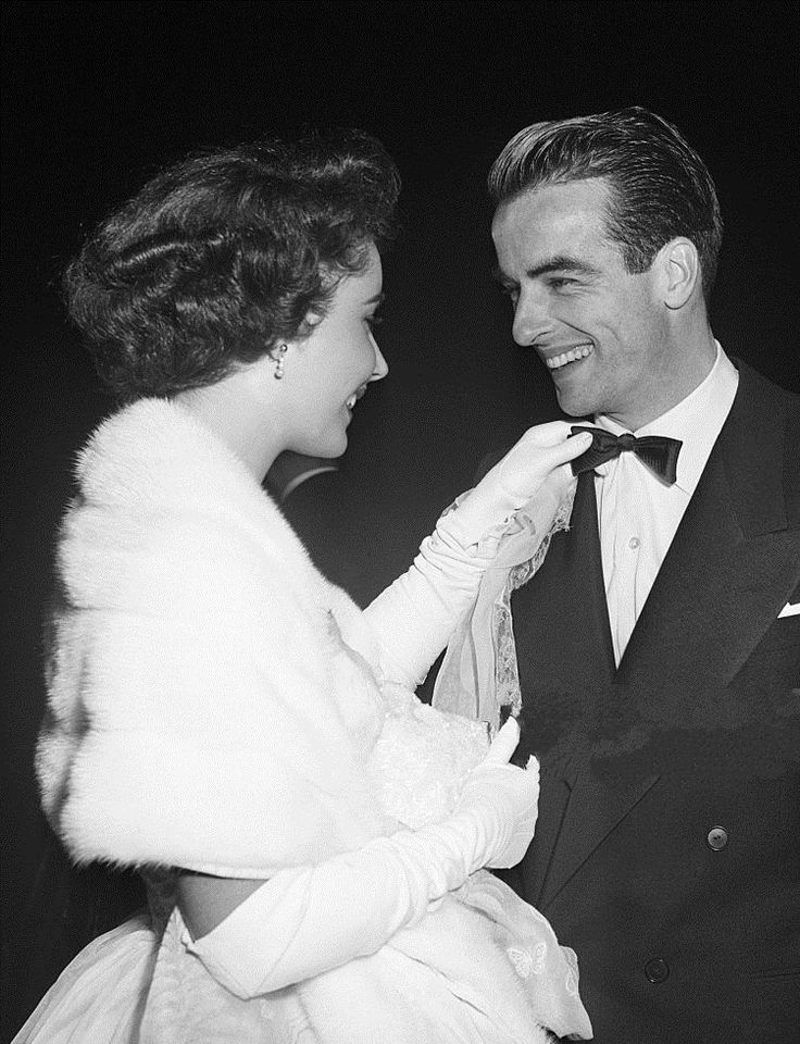 Elizabeth Taylor and Montgomery Clift, 1952