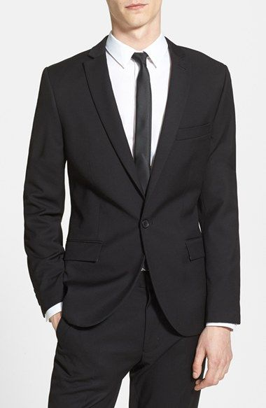 Topman Skinny Fit Suit Jacket available at #Nordstrom