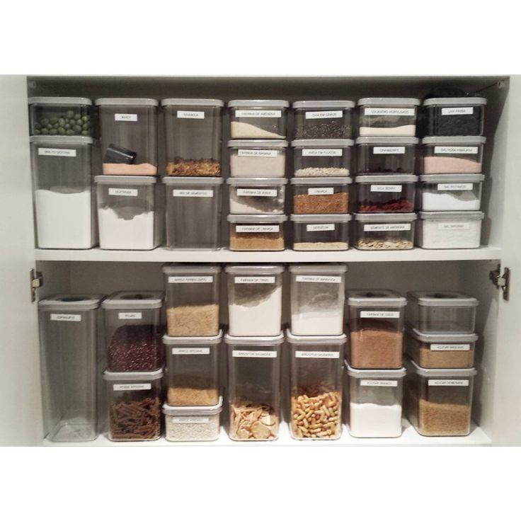 17 melhores ideias sobre despensa organizada no pinterest ...