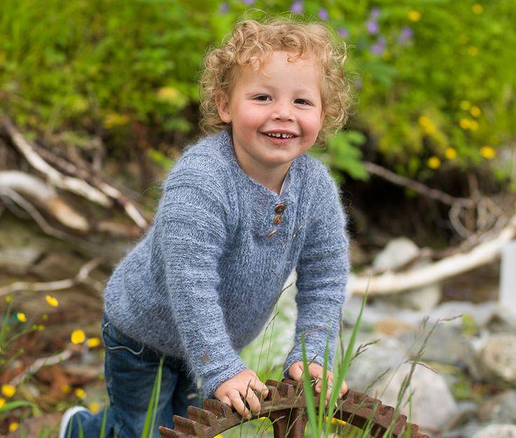 Lillebror har blitt skolegutt - 08 - 2015 - Design by Marte Helgetun