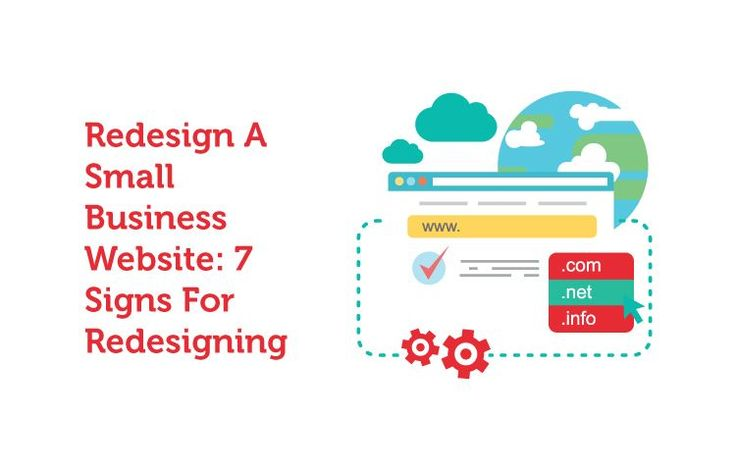 If your small business website is not working well? Here are 7 signs that help you to determine your site, whether or not, need to re-design.