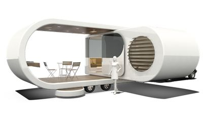 Romotow - brilliant mobile space design. Sooo much better than the ugly RVs!