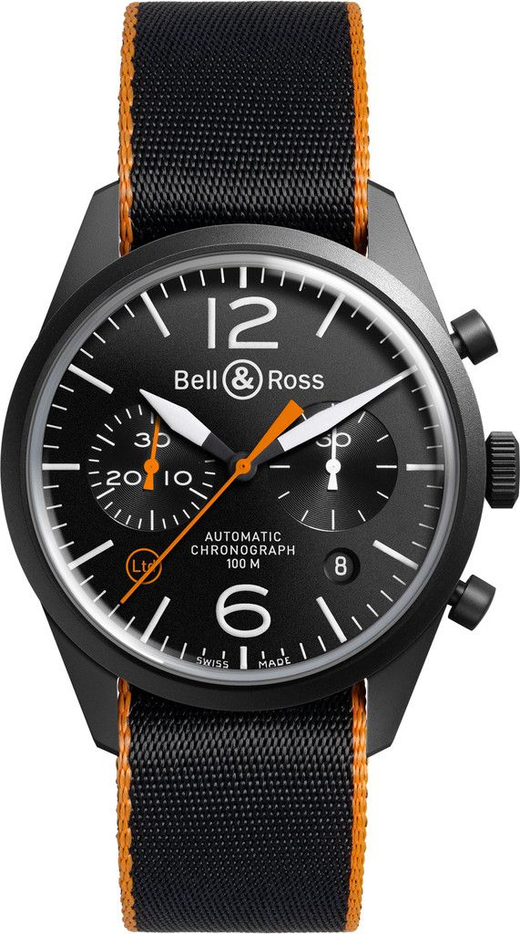 Bell & Ross. Automatic Chronograph.