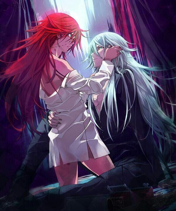 Black Butler He Will Be Mine Tonight Grell X Undertaker