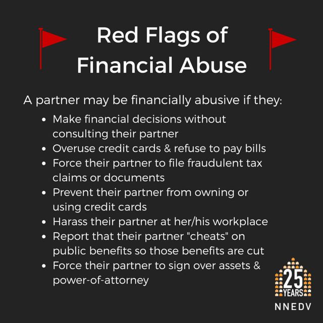 The effects of financial abuse can last for decades. Learn more: http://nnedv.org/projects/ecojustice.html