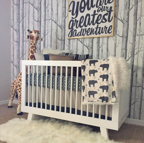 Oilo Design Challenge- Week 9 Finish product Gray Baby Boy White