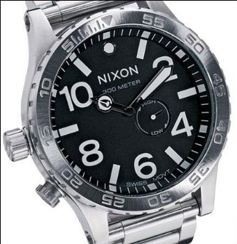 Nixon 51-30 Tide Watch $259.95 http://amzn.com/B000TZQK2I #NixonWatch