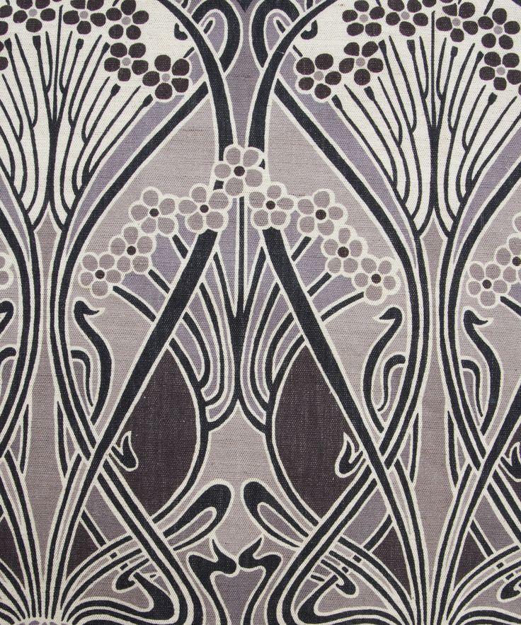 Grey Ianthe Print Linen Union, Liberty Furnishing Fabrics. Shop more classic Liberty print upholstery fabrics from the Liberty Art Fabrics collection at Liberty.co.uk.
