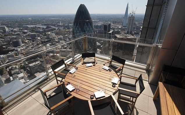 Sushi Samba - new sushi place with amazing London views from the new Heron Tower
