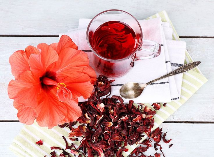 Looking to lighten your load? Then sip some hibiscus tea. Doing so will help banish bloat and let your pooch deflate.