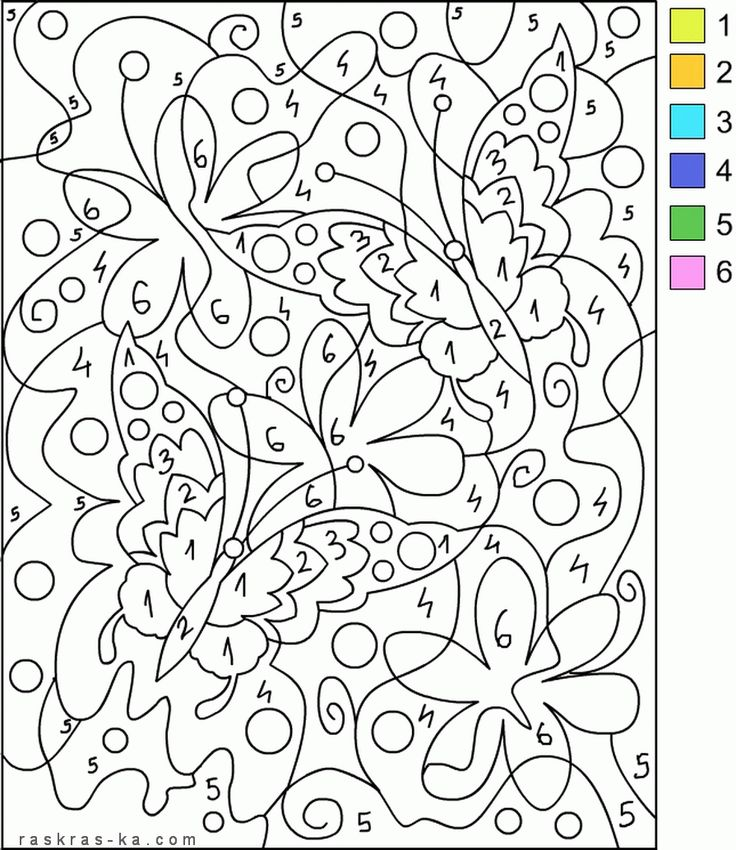 11 best Раскраска images on Pinterest | Colouring pages, Number ...