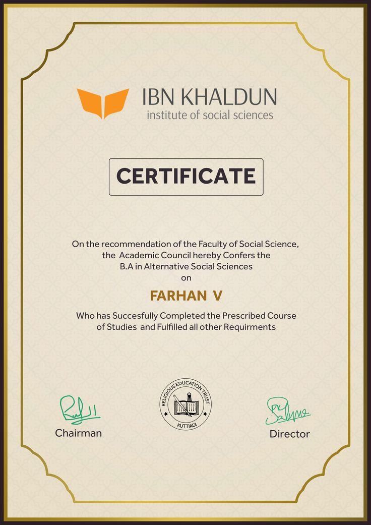 Ibn Khaldun Institute