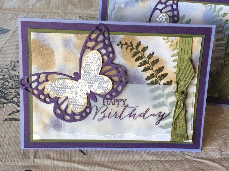 Sharyn's Inspirational Cards: Butterfly Basics