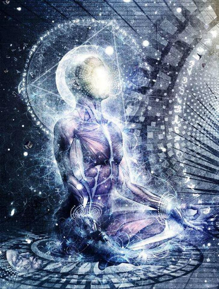 1000 images about fusion of consciousness science and - Meditation art wallpaper ...