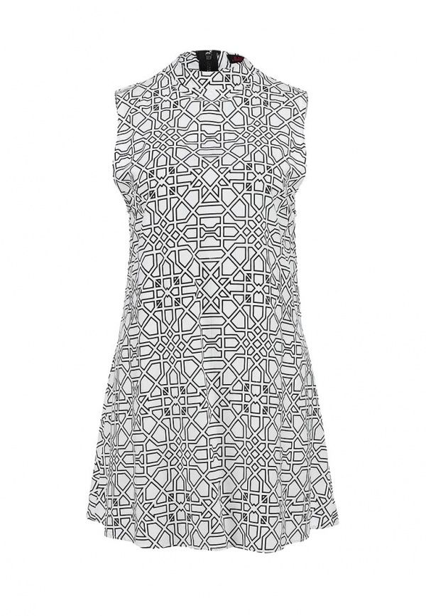 Платье Motel rocks женское. Цвет: серый. Сезон: Весна-лето 2014. С бесплатной доставкой и примеркой на Lamoda. http://j.mp/1nsBEvQ