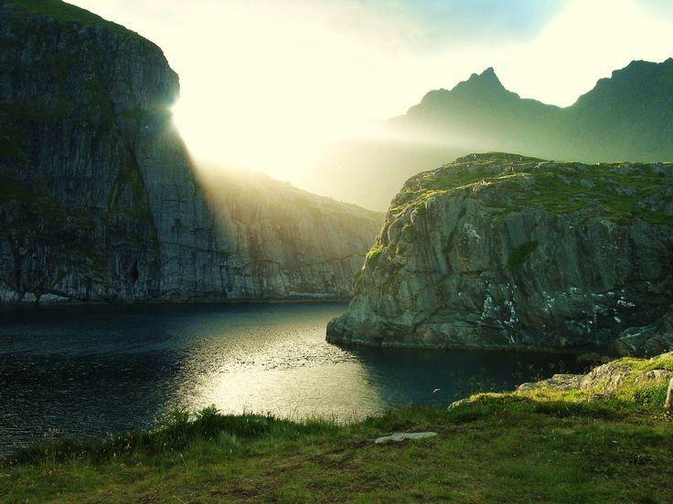 cliffs and light