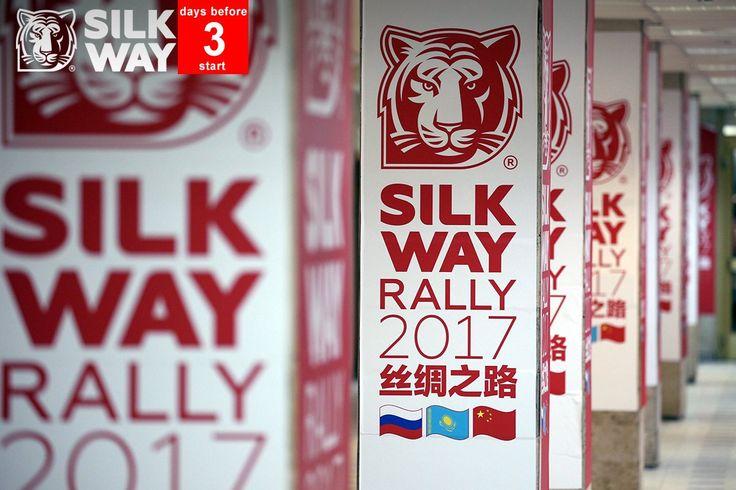 Hashtag #SILKWAYRALLY2017 na Twitteru